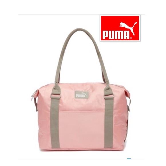 daaaf45ad905 🍭PUMA evercat Jane blush large shoulder bag